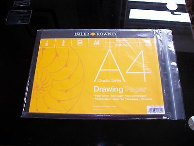 Daler Rowney A4 Graphic Series Drawing Paper