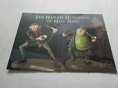 WDCC Horace and Jasper from 101 Dalmatians Promocard 2007