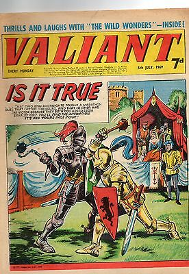 Valiant comic 5th July 1969 in VG Plus condition.