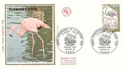 FRANCE.1970. Flamant Rose. FDC209