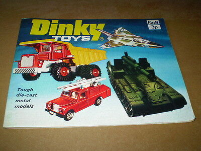 DINKY TOY CATALOGUE 1973 9th UK EDITION EXCELLENT CONDITION FOR AGE