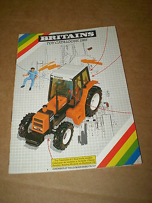Britains Model Toy Catalogue 1985 + P/listuk Edition Excellent Condition