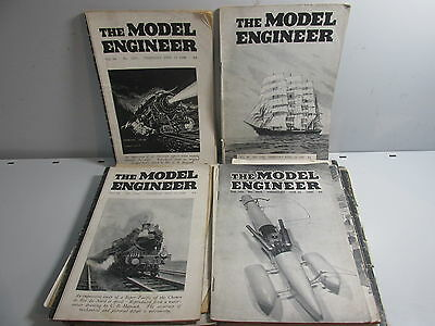 The Model Engineer Magazine x 24 issues, 1943-51, Job lot  /519AB