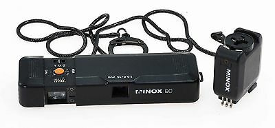 Minox EC & Flash Holder - NON WORKING  SOLD FOR DISPLAY OR SPARE PARTS