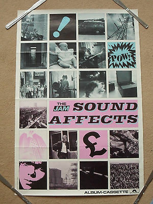 * The Jam - Sound Affects - Original advertising poster