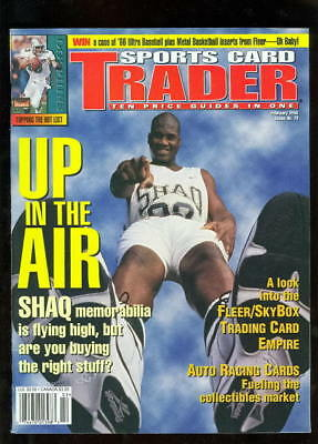 "Shaquille ""Shaq"" O'Neal 1996 Sports Card Trader Magazine"