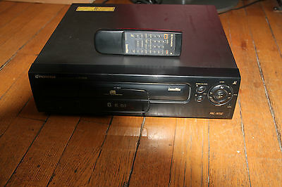 Pioneer CLD S315 PAL/NTSC Laser Disc Player -1997 Remote Controle CU-CLD0124