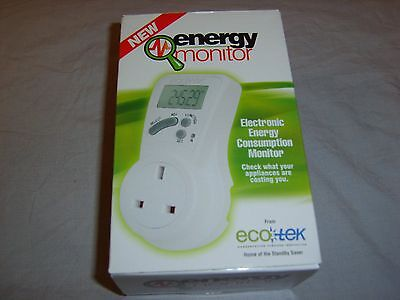 Ecotek energy / electricity monitor - Energy saving device