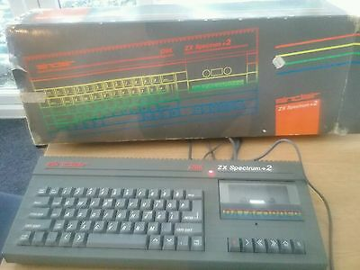 ZX SPECTRUM+2 Boxed with psu/tv connection cable