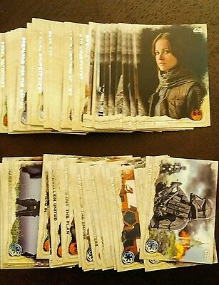 Topps Star Wars Rogue One Series #1 Mini Master Set 155 Base & chase sets