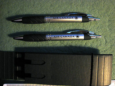 AIR CANADA PEN AND PROPELLING PENCIL SET IN CASE - NEW UNUSED a04mw