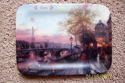 Thomas Kinkade Paris Postcards Images from Kinkade Collector Plate #4556A