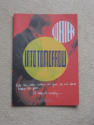 Paul Weller Genesis Publications 8 page A4 brochure for Into Tomorrow book