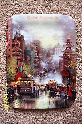 Thomas Kinkade San Francisc Postcards Images from Kinkade Collector Plate #869A