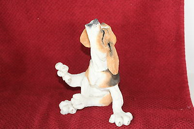 A Breed Apart Beagle Puppy Howling 70208 Country Artists Dog Figurine 2004