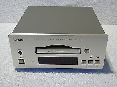 Teac PD-H500C Reference 500 Series CD Compact Disc Player + Instruction Manual