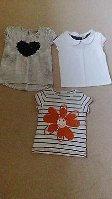 Three Girls Next Tops Age 2-3 Years EXCELLENT SEE DESCRIPTION