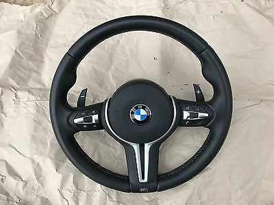 Audi A4 Q5 S4 A5 S5 Rs4 Rs5 Flat Bottom Steering Wheel Big Paddles With Airbag
