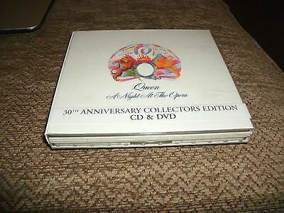 Queen ..A Night at the Opera 30th Anniversary Collectors edition CD & DVD