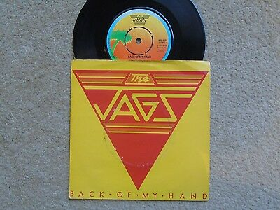 The Jags Back Of My Hand 1979 New Wave 45