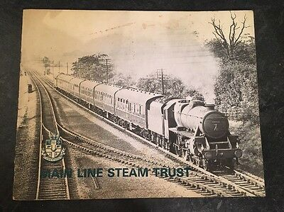 Main Line Steam Trust (The Great Central Railway) - free postage in U.K.