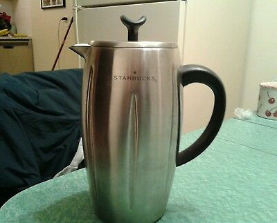 Starbucks Barista 2003 Stainless Steel Coffee Press Thermal French 32oz