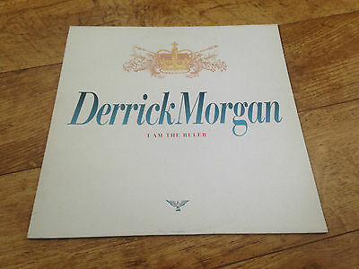 Derrick Morgan i am the ruler Uk vinyl LP Trojan