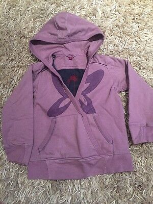 Fat Face Girls Hoodie. Age 6-7 Years