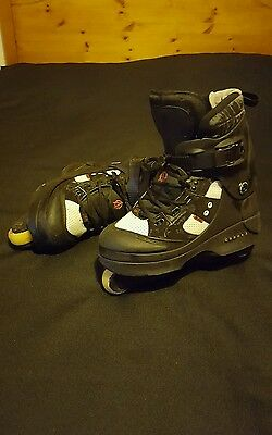 Anarchy Chaos 3 Inline Skates Rollerblades Size 9