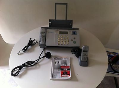 Sharp, Cordless Fax Machine, SMS Communication Center, Digital Answering System.