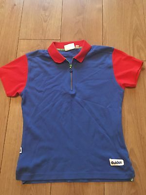 """Guide Uniform - Used Girls Guide Polo Shirt Size 32"""" Chest"""