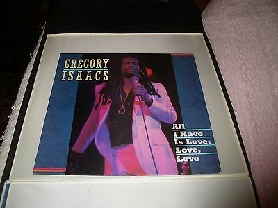 Gregory Isaacs All I Have Is Love Love Love  Vinyl Lp