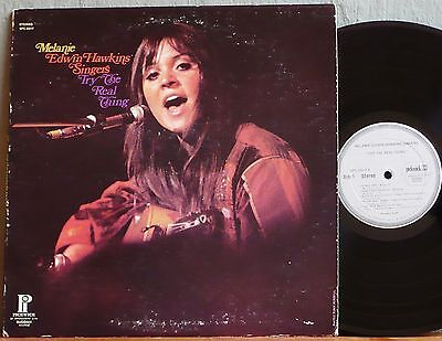 MELANIE  -  EDWIN HAWKINS SINGERS  Try The Real Thing  1971 U.S. compilation LP