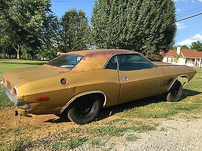1972 Dodge Challenger Coupe 1972 Dodge Challenger 340 body