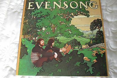 EVENSONG - Evensong Vinyl LP PHILLIPS 6308139 1973 UK 1ST PRESS