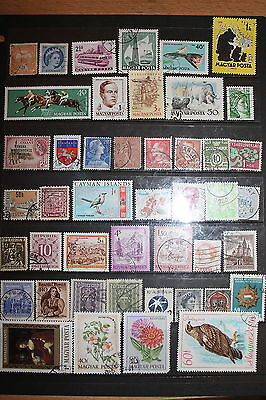 Collection of Worldwide Stamps W067