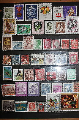 Collection of Worldwide Stamps W088
