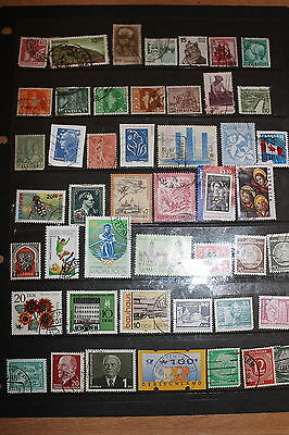 Collection of Worldwide Stamps W091