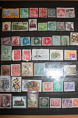 Collection of Worldwide Stamps W097