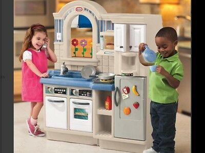 Little Tikes 2 In 1 Cook N Grill Kitchen New
