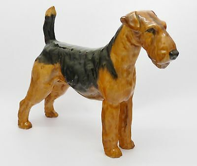 Lovely Royal Doulton Airedale Terrier Dog Hn 1023 - Frederick Daws - Great Gift!