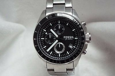 (1) Gents Stainless Steel Fossil Chronograph Quartz Wrist Watch