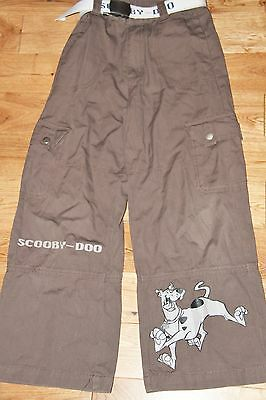 Scooby Doo Trousers with Belt  Kids Aged 7-8yrs.