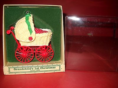 1983 Grandchild's First Christmas Hallmark Collectible Christmas Ornament