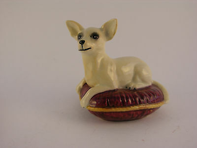 Vintage Beswick Chihuahua on a Cushion Made In England