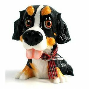 ARORA 'LITTLE PAWS' Bernese Mountain Dog figure in Excellent Condition