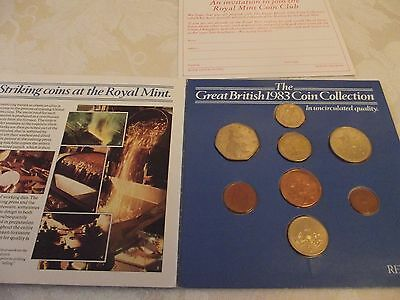 uncirculated coin collection 1983