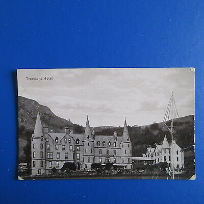 Old Postcard of The Trossachs Hotel.