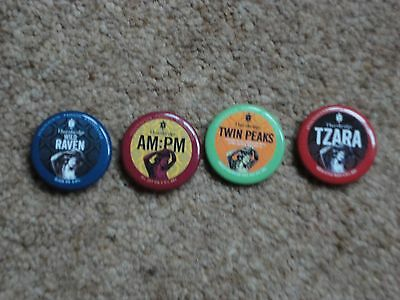 Thornbridge Brewing: UK Craft Beer Badges (Set of 4)
