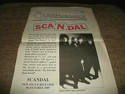 Queen-The Queen Chronicle Scandal